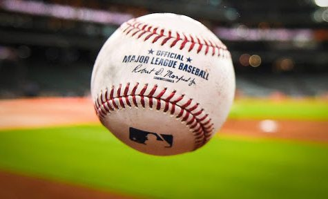 Jul 10, 2018; Houston, TX, USA; View of a major league baseball ball prior to the game between the Oakland Athletics and the Houston Astros at Minute Maid Park. Mandatory Credit: Shanna Lockwood-USA TODAY Sports