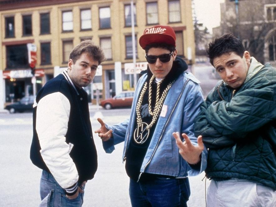 Adam+Yauch+%28left%29+with+the+Beastie+Boys+in+1987.+The+gruff-voiced+rapper+known+as+MCA+died+Friday+after+a+battle+with+cancer.